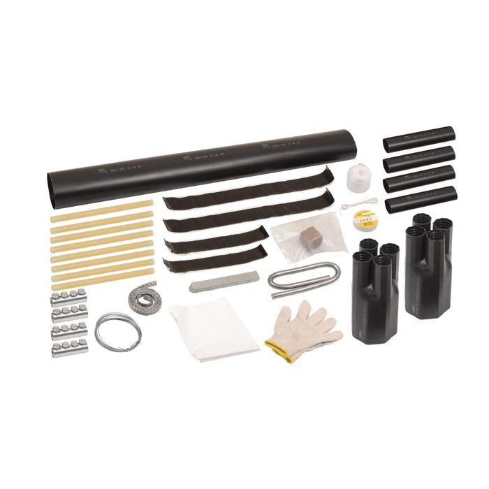Муфта соединительная IEK Стт(тп) 3х150/240, с гильзами, пайка, бумажная изоляция, 1кВ