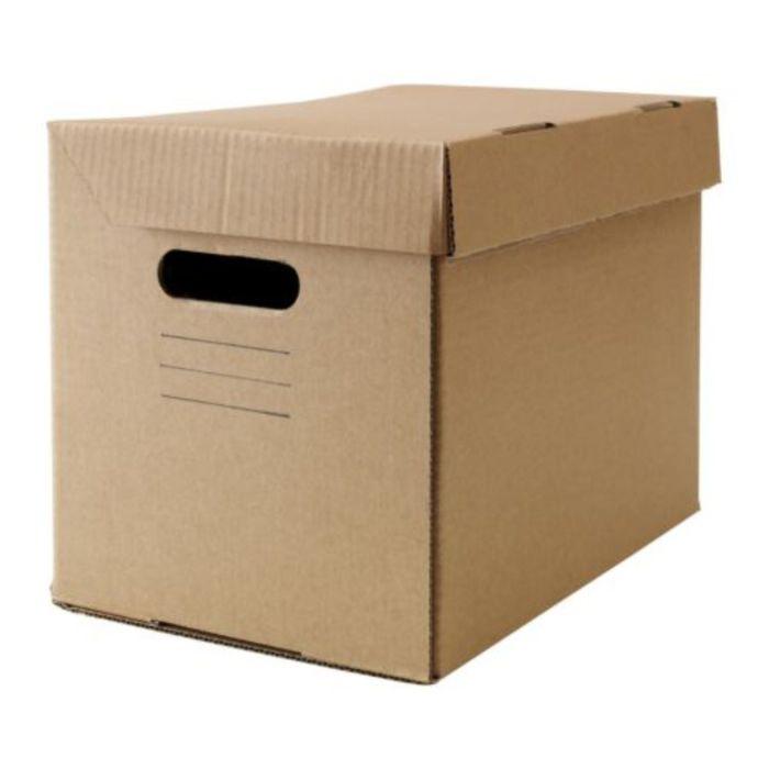 Коробка с крышкой, цвет коричневый ПАППИС