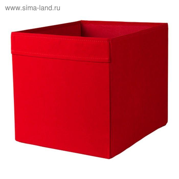 Коробка, цвет красный ДРЁНА