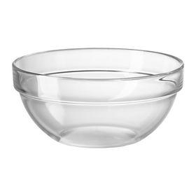 Салатница, прозрачное стекло КЕМИСК