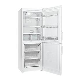 Холодильник Indesit EF 16, 256 л, класс A, Full No frost, выдвигающиеся полки, белый