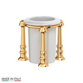 Держатель со стаканом настольный, фарфор; золото, 3SC