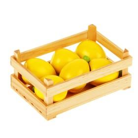 Игровой набор 'Ящик с лимонами', лимон — 11 × 5 см Ош