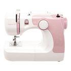 Швейная машина Comfort 21, обметочная, эластичная, потайная строчка, белый