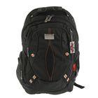 Рюкзак молодежный эргономичная спинка Across 45*30*20 А16, чёрный A16-008
