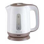 Чайник электрический Supra KES 1724, 2200 Вт, 1.7 л, белый