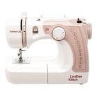 Швейная машина Comfort 20, 10 операций, обметочная, эластичная, потайная строчка, белый