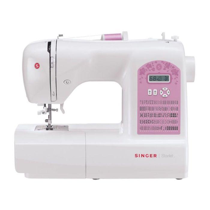 Швейная машина Singer Starlet 6699, 29 опер, обметочная, эластичная, потайная строчка, белый   23955