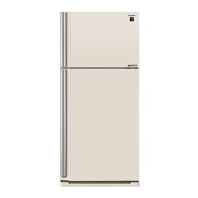 Холодильник Sharp SJ-XE55PMBE, 536 л, класс А++, инверторный, экспресс заморозка, бежевый