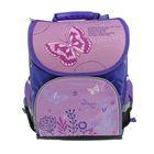 Ранец Стандарт Limpopo Premium box 35x28x16 см, эргономичная спинка, Dreamy Butterflies