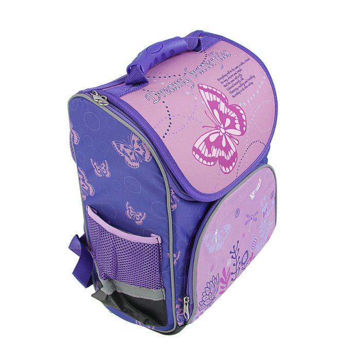 8c8e81226de2 Ранец Стандарт Limpopo Premium box 35x28x16 см, эргономичная спинка, Dreamy  Butterflies - фото 8903562