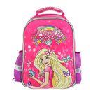 Рюкзак каркасный Mattel Super bag 39x33x20 см для девочки, Barbie