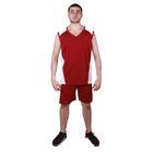 Форма баскетбольная MEGA р. 52, цвет бордовый