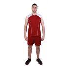 Форма волейбольная MEGA р. 32, цвет бордовый