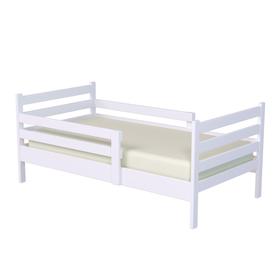 Кровать подростковая «Колибри», 140х70 см, цвет белый