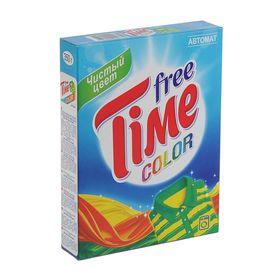 Порошок стиральный Free Time Color Автомат, 350 г Ош