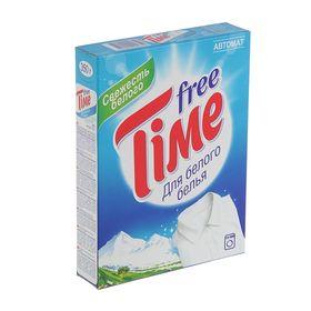Порошок стиральный Free Time для белого Автомат, 350 г Ош