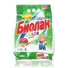"""Порошок стиральный """"Биолан"""" Автомат Color, 4000 г"""