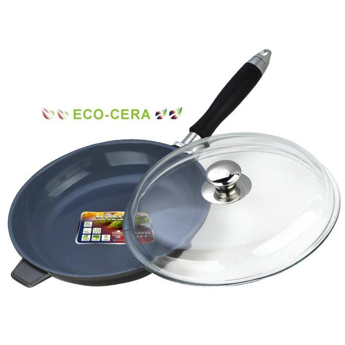 Сковорода с крышкой 28 см