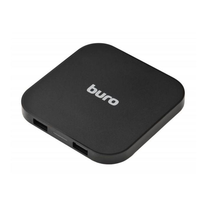 Беспроводное зарядное устройство Buro Q8 1A универсальное, кабель microUSB