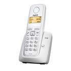 Радиотелефон Dect Gigaset A120 белый, АОН