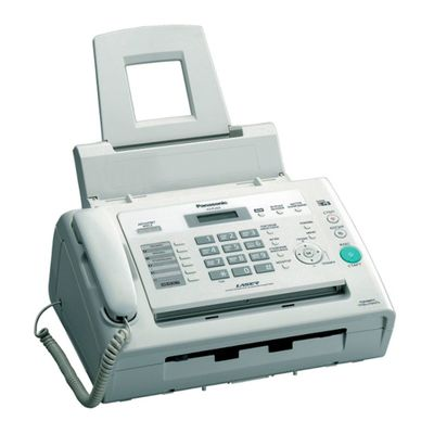 Факс Panasonic KX-FL423RUW белый, лазерный, АОН