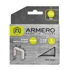 Скобы для степлера ARMERO, тип 53, 6 мм, заостренный наконечник, 1000 шт.
