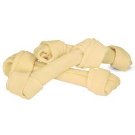 Лакомство Triol кость узловая белая, для собак, 15 см, 50-55 г, 10 шт.