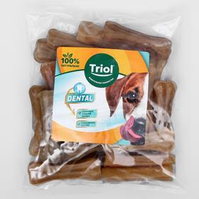 Лакомство Triol кость из жил, для собак, 7.5 см, 20-25 г, 25 шт.