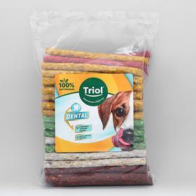 Лакомство DENTAL палочки прессованные, для собак, d=1 см х 13 см, 8-10 г, 100 шт.
