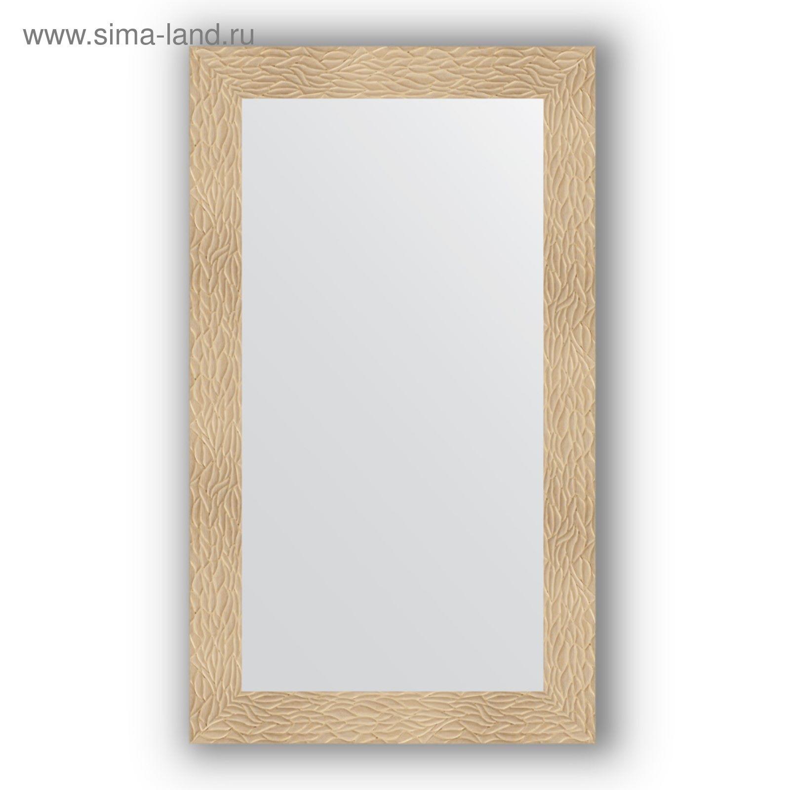 23df85fae3c6 Зеркало в багетной раме - золотые дюны 90 мм, 70 х 120 см, Evoform ...
