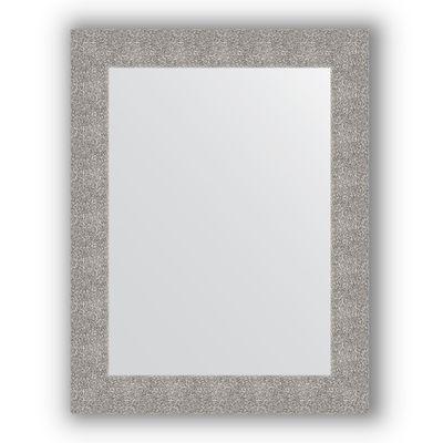 474819a979c1 Зеркало в багетной раме - чеканка серебряная 90 мм, 70 х 90 см, Evoform