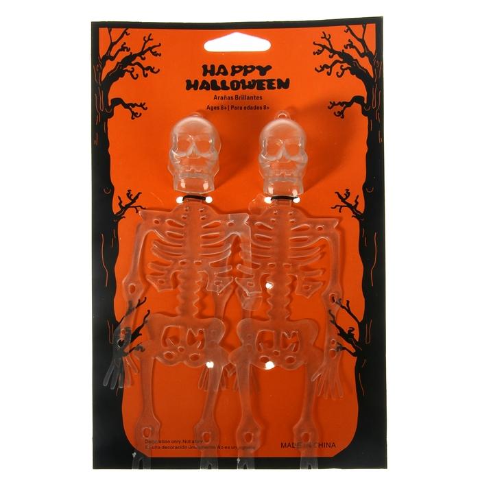 Прикол 2 скелета на подложке, цвет прозрачный