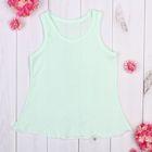 Сорочка детская, рост 98 см, цвет салатовый 958_М