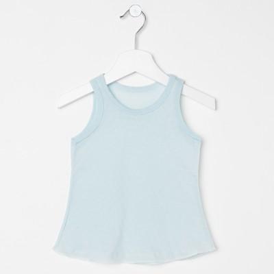 Сорочка детская, рост 98 см, цвет голубой 958_М