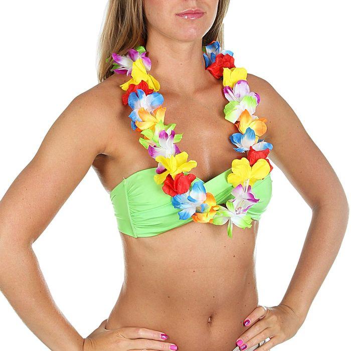 """Гавайское ожерелье """"Цветочки"""""""