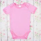 Боди с коротким рукавом детское, рост 68 см (24), цвет розовый 583Б-361_М