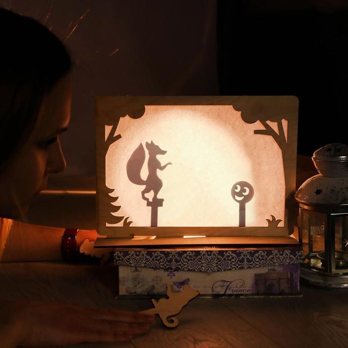 Картинка теневой театр в детском саду