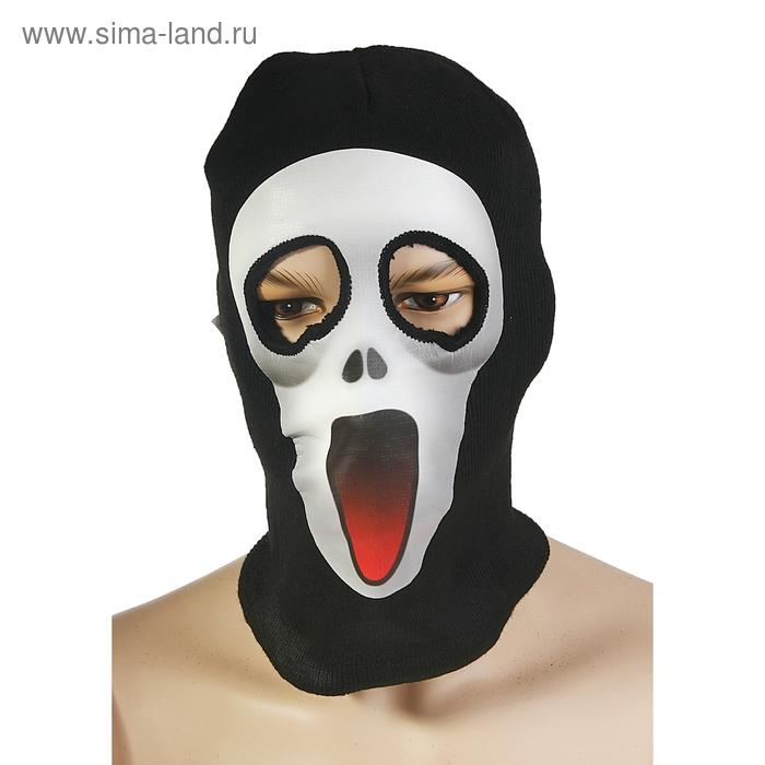 "Карнавальная маска - чулок ""Крик"""