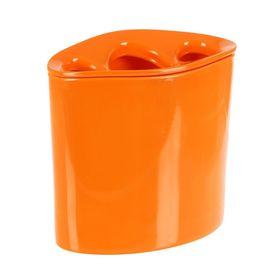 Стакан для зубных щёток, цвет оранжевый Orvino
