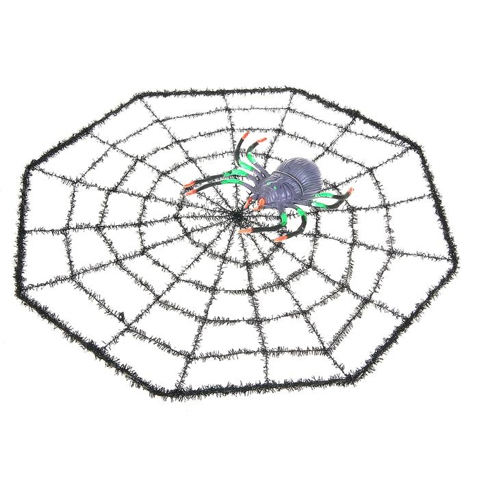 """Прикол """"Паутина с пауком"""""""