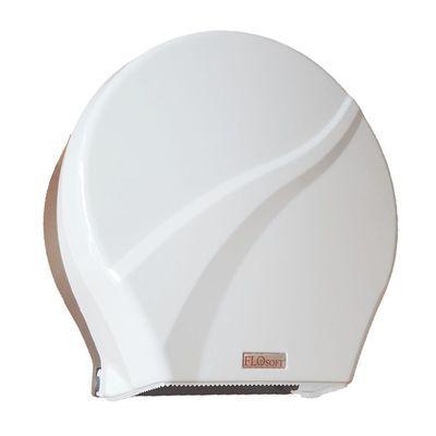 Диспенсер для туалетной бумаги, цвет белый/серо-коричневый