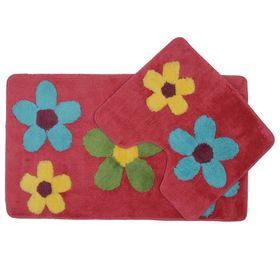 Комплект ковриков для ванной Acelya 2 шт: 60 х 100, 60 х 50