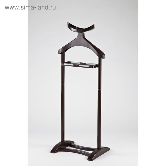 Вешалка напольная для одежды, цвет коричневый