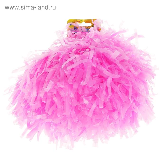 Карнавальный помпон, одевается на пальцы, цвет фиолетовый