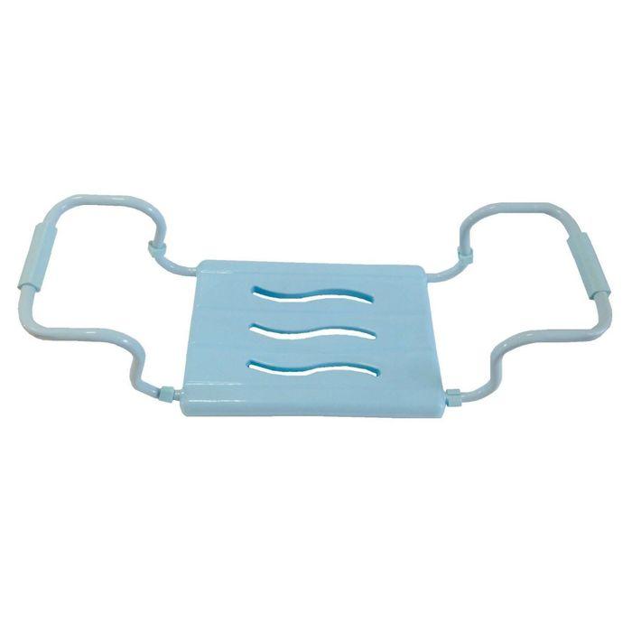 Сиденье для ванной голубое, нагрузка до 150 кг