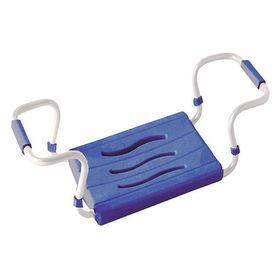Сиденье для ванной тёмно-синее, стальной каркас, нагрузка до 150 кг