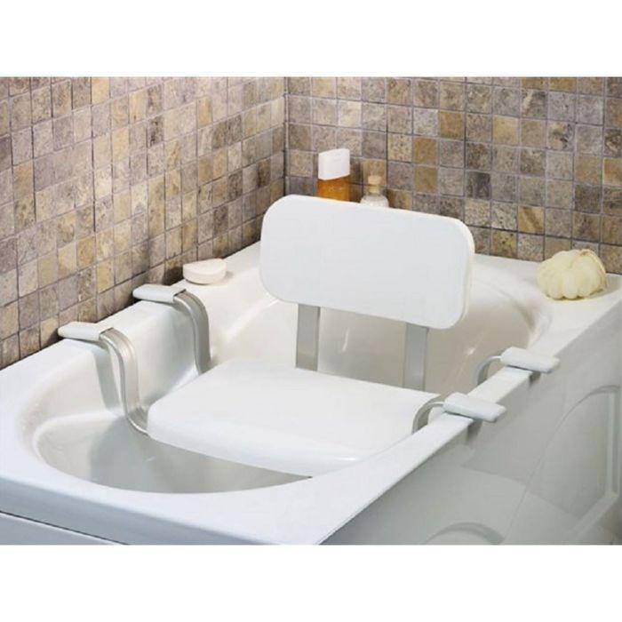Сиденье полка для ванной со спинкой