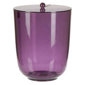 Урна с крышкой Roma, цвет фиолетовый