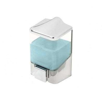 Дозатор для мыла 1000 мл, цвет прозрачный-белый